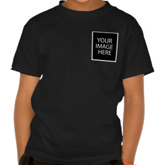 El código de QR embroma la plantilla oscura de la Camisetas