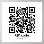 El código de QR, tecnología está aquí Impresiones