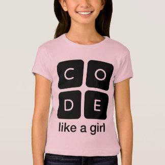 El código tiene gusto de un chica polera