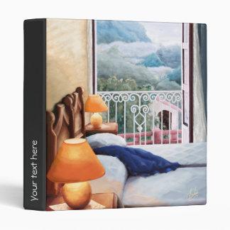 El Cojín Azul / The blue pillow. 3 Ring Binder