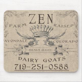 El cojín de las cabras del zen mouse pad