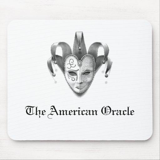 El cojín de ratón americano del logotipo de Oracle Alfombrilla De Ratones