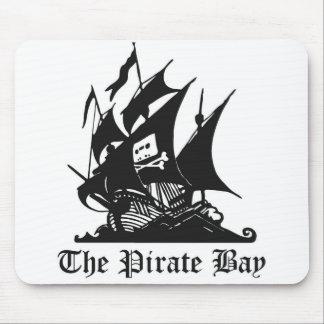 El cojín de ratón de la bahía del pirata tapetes de ratones