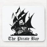 El cojín de ratón de la bahía del pirata alfombrillas de raton