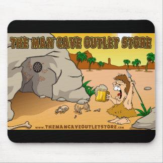 El cojín de ratón de la cueva del hombre tapete de ratón