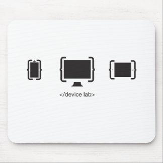 El cojín de ratón de los dispositivos alfombrillas de raton