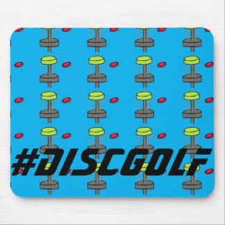 El cojín de ratón del #DiscGolf. Golf del disco de Tapetes De Raton