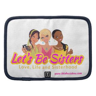 El cojín Folio-Let ser hermanas Planificador