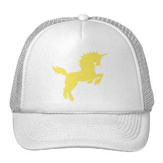 El coleccionable colorea unicornio en casquillo am gorra