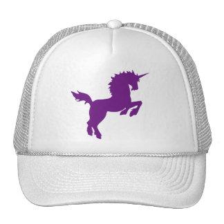 El coleccionable colorea unicornio en casquillo de gorro