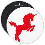 El coleccionable colorea unicornio en el Pin del b