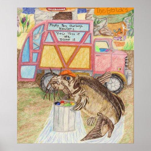 El colector de basura posters