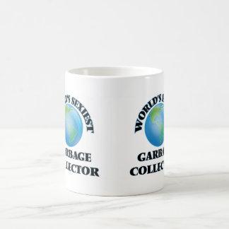 El colector de la basura más atractivo del mundo tazas de café