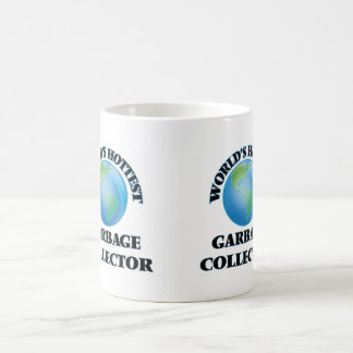 El colector de la basura más caliente del mundo taza de café