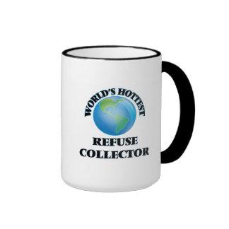 El colector de la basura más caliente del mundo tazas de café
