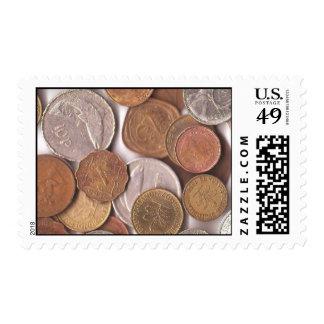 El colector de moneda sellos