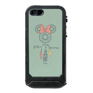 El colector ideal de Minnie Mouse el | sigue sus Funda Para iPhone 5 Incipio ATLAS ID