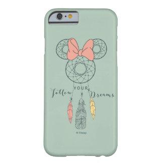 El colector ideal de Minnie Mouse el | sigue sus Funda Para iPhone 6 Barely There