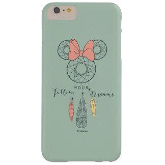 El colector ideal de Minnie Mouse el | sigue sus Funda Para iPhone 6 Plus Barely There