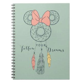 El colector ideal de Minnie Mouse el | sigue sus Libro De Apuntes Con Espiral