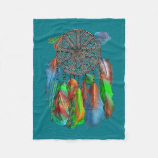 El colector ideal en rojo &green colores manta de forro polar