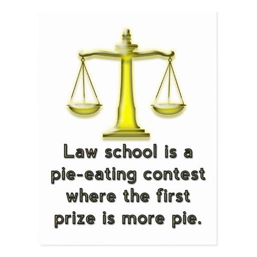 El colegio de abogados es una competencia de la em tarjeta postal