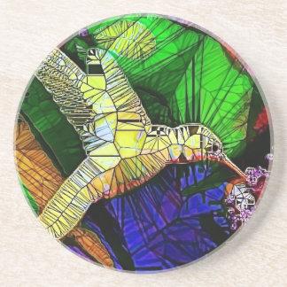 El colibrí de cristal posavasos manualidades