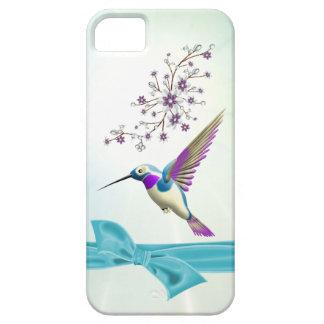 El colibrí florece el iPhone 5 de la casamata de iPhone 5 Funda