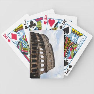 El coliseo barajas de cartas