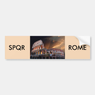 El coliseo de Roma antigua Pegatina Para Auto