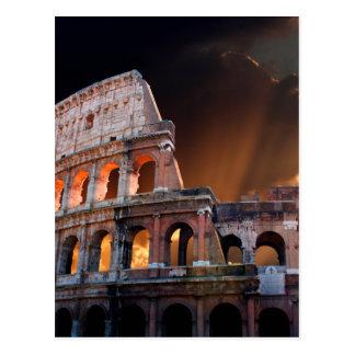 El coliseo de Roma antigua Postales