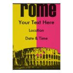 El coliseo en Roma Invitaciones Personales