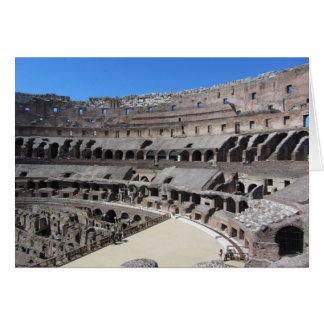 El coliseo - Roma, Italia Tarjeta Pequeña