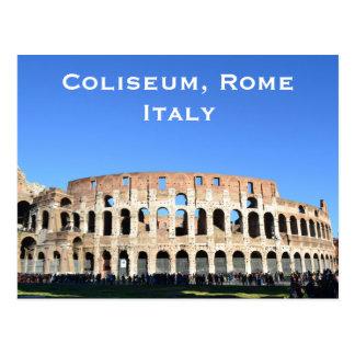 El coliseo, turismo del viaje del vintage de Roma, Postales