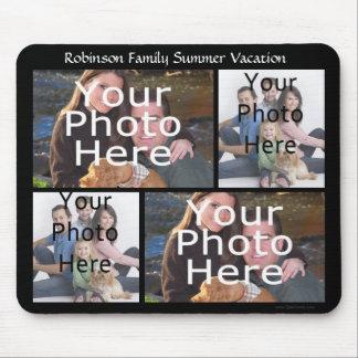 El collage de encargo Mousepad de la foto añade 4 Alfombrillas De Ratón