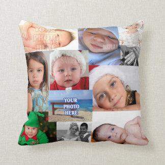 El collage de la foto hace su propio DIY Almohada