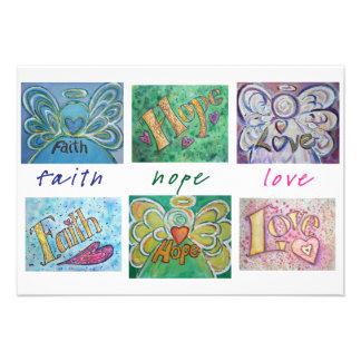El collage de la palabra del ángel del amor de la comunicados personalizados