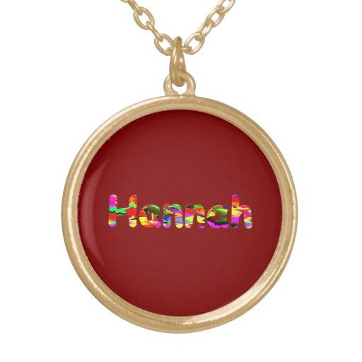 El collar de Hannah
