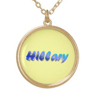 El collar de Hillary