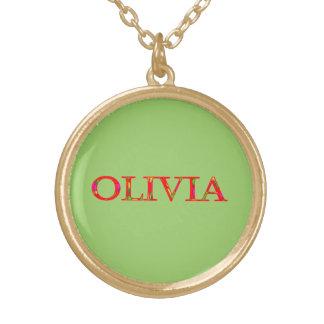 El collar de Olivia