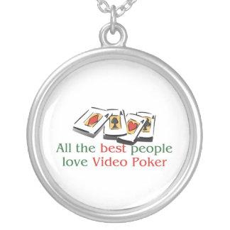 El collar del amante video del póker