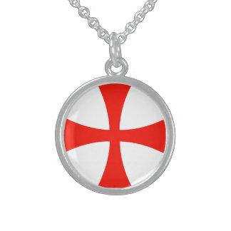El collar esterlina Knights a Templar