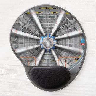 El Collider grande del Hadron Alfombrilla De Ratón Con Gel