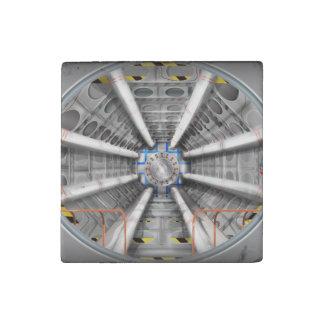 El Collider grande del Hadron (LHC) Imán De Piedra