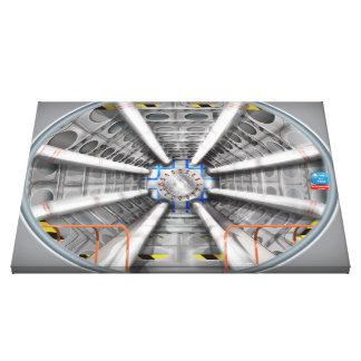 El Collider grande del Hadron Impresiones En Lona