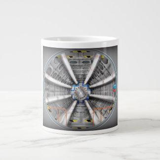 El Collider grande del Hadron Tazas Extra Grande