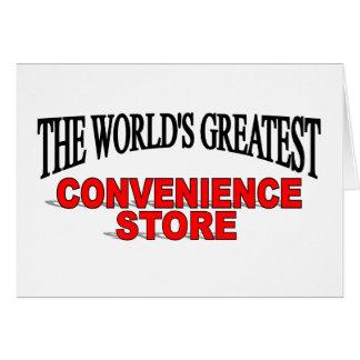 El colmado más grande del mundo tarjeta de felicitación