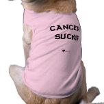 El colmillo habla: El cáncer canino chupa Camiseta De Perro
