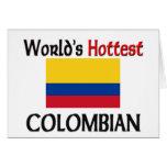 El colombiano más caliente del mundo tarjeton