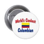 El colombiano más fresco del mundo pin